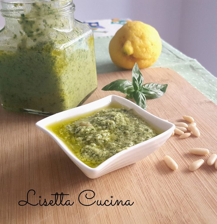 Pesto al limone http://blog.giallozafferano.it/lisettacucina/pesto-al-limone/