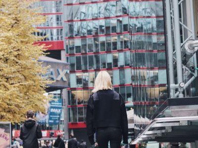 Berlin, Plac Poczdamski, Sony Center