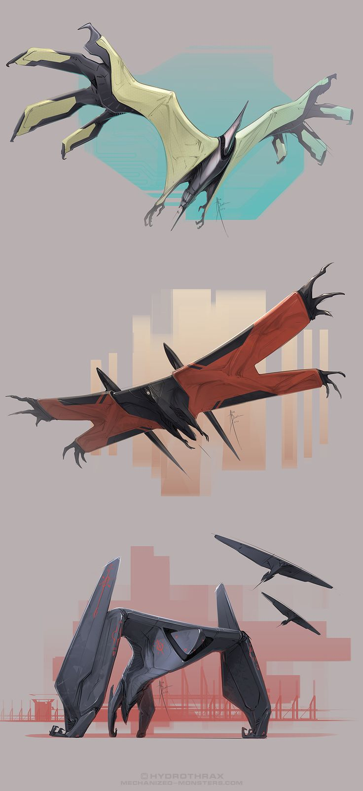 Wingy Things by Hydrothrax on DeviantArt