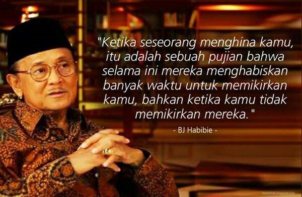 Kutipan Pak Habibie