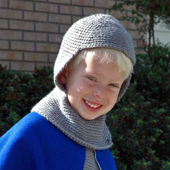 Chainmail Hood Knitting Pattern : 12 best images about ideas for richard lionheart costume ...