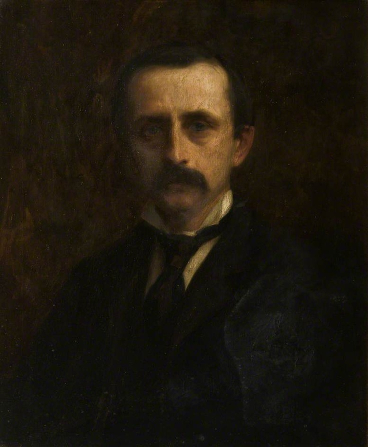Sir J. M. Barrie (1860–1937) by Leonard Leslie Brooke (Angus Council) #movember