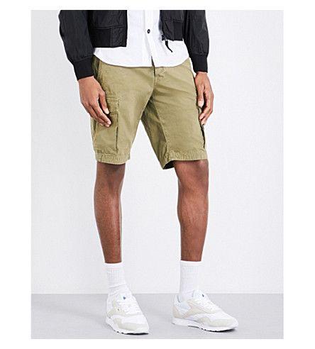 STONE ISLAND Cotton Cargo Shorts. #stoneisland #cloth #pants & shorts