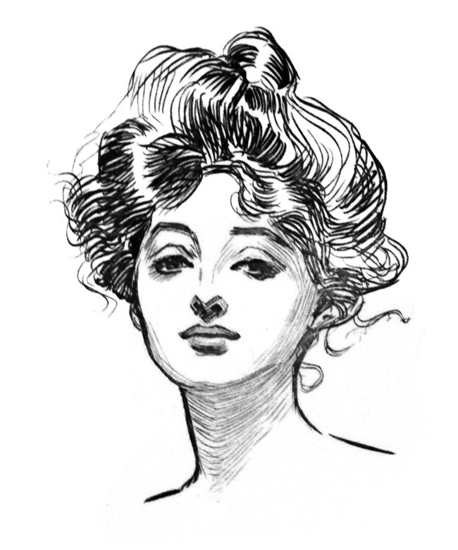 Google Image Result for http://upload.wikimedia.org/wikipedia/commons/5/5a/Gibson_Girl.png