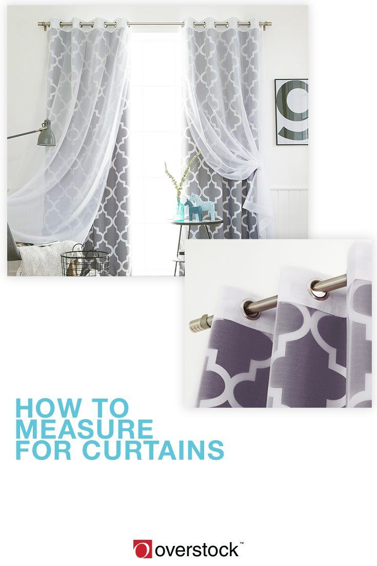 How To Measure Your Curtains In 5 Easy Steps Overstock Com In 2020 Classic Bathroom Furniture Curtains Measuring Curtains