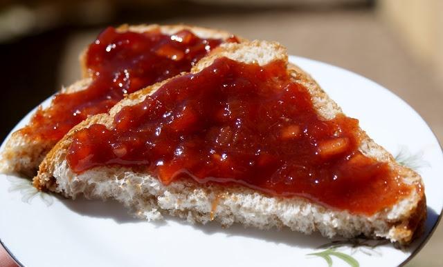 Rhubarb Apple Jam | Canning | Pinterest