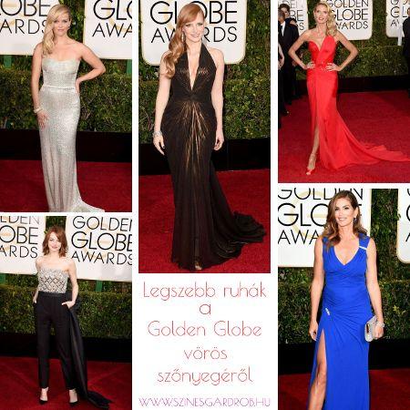 Legszebb ruhák a Golden Globe gáláról