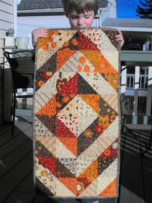 81 best Thanksgiving Quilts & Crafts images on Pinterest   Bag ... : thanksgiving table runner quilt patterns - Adamdwight.com