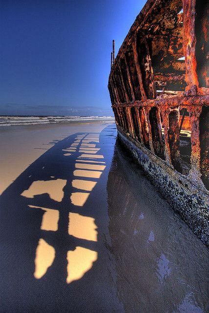 Maheno Wreck | Fraser Island, Australia