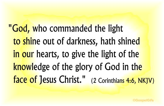 Free Christian Photos with Scripture | Christian Clip Art: Bible Verse - Light Shining Out of the Darkness ...