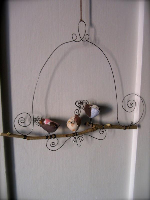 Oiseaux sur leur branche