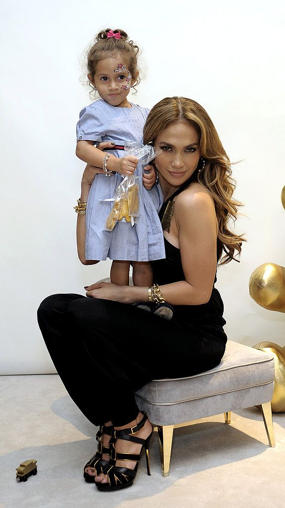 Jennifer Lopez and her children are so stylish, they even starred in a Gucci kids ad campaign.