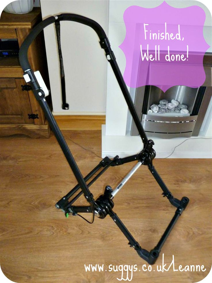 HOW TO: Vinyl your Bugaboo Chassis for £4.99!