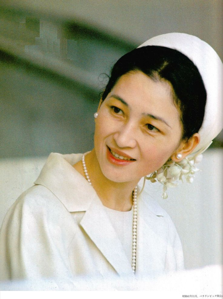 Young Empress Michiko