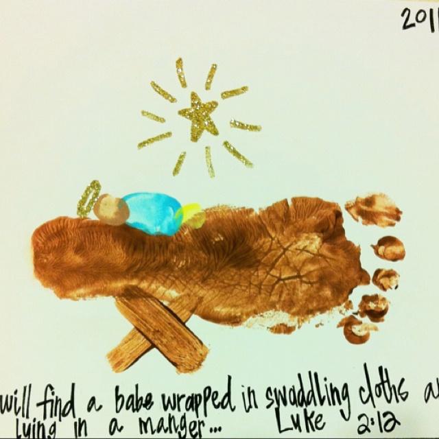 Josephs Christmas craft. Hebert 2011