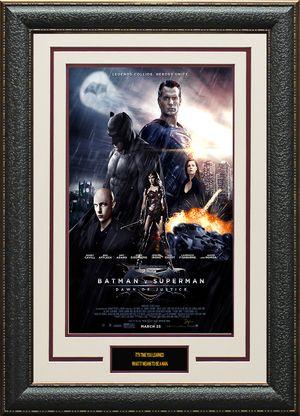 Batman V Superman Dawn of Justice 11x17 Mini Movie Poster Display.