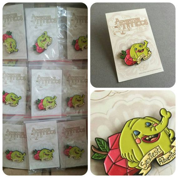 Limited Edition Tree Trunks Adventure Time Tattoo Lapel Pin