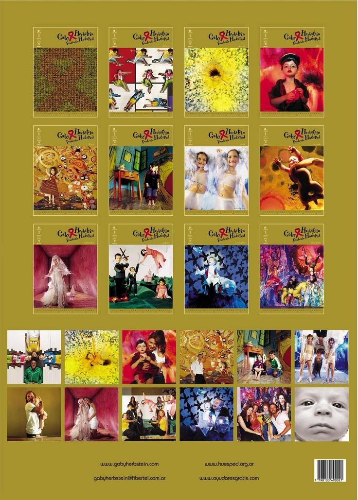 Contratapa calendario 2003