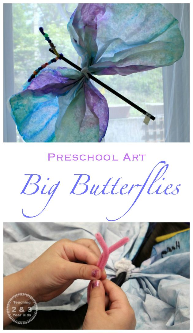 Preschool Butterfly Theme - Teaching 2 and 3 Year Olds