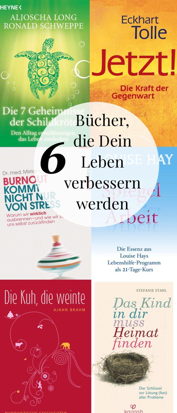 6 Bücher, die dir innere Ruhe schenken und Deine Lebensqualität verbessern