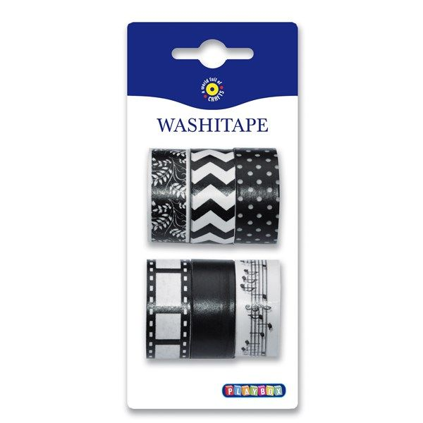 Washitape. 3,10€/6kpl