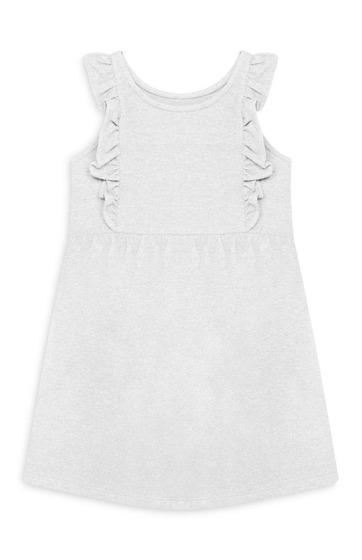 Primark - Robe grise en jersey fille
