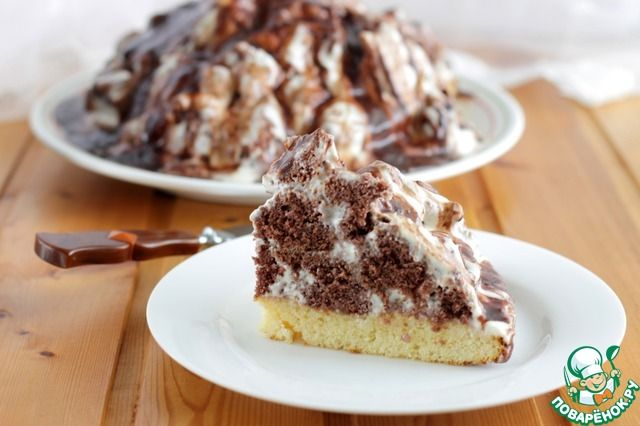 """Торт """"Кучерявый Панчо"""" - кулинарный рецепт"""