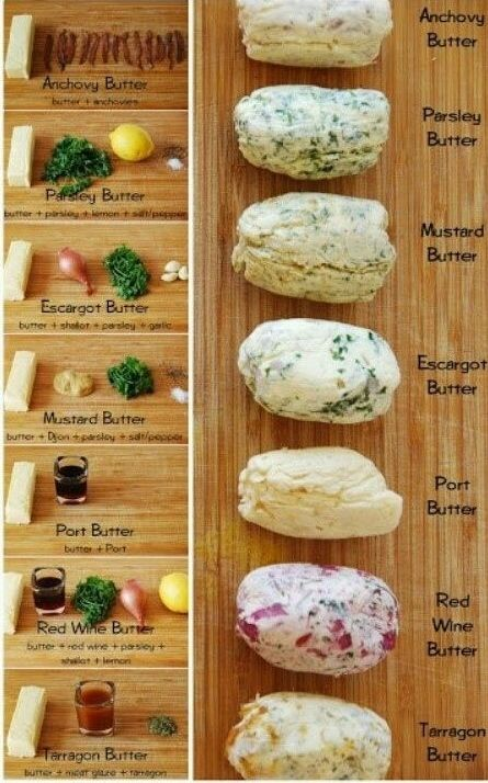 The flavoring options are limitless. | How To Make Flavored Butter (and how to…