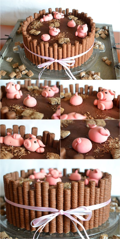 Torten-Schweinereien (Sweet Recipes Chocolate)