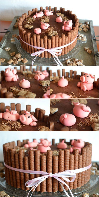 (6) Torten-Schweinereien | food art | Pinterest