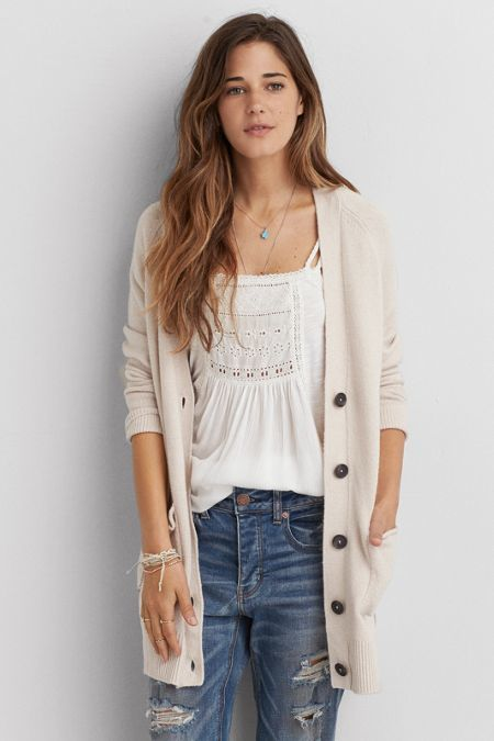 American Eagle Outfitters American Eagle Boyfriend Cardigan