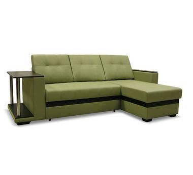 Угловой диван Атланта (зеленый)