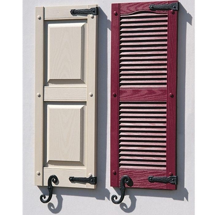Best 25 Shutter hardware ideas on Pinterest Outdoor shutters