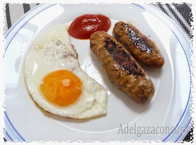 Recetas Light - Chorizos light de ternera y pollo