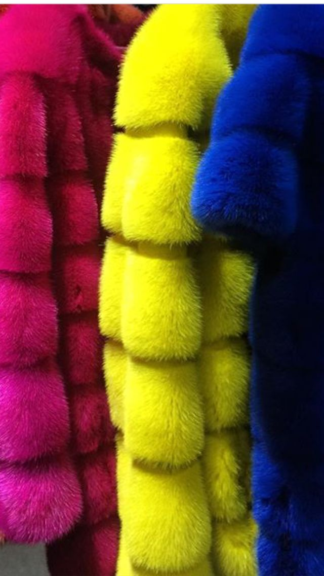Colored Abel Furs Collection