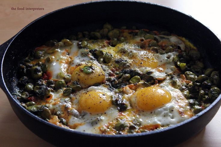 Persian Broad Beans with Eggs – Baghali Ghatogh