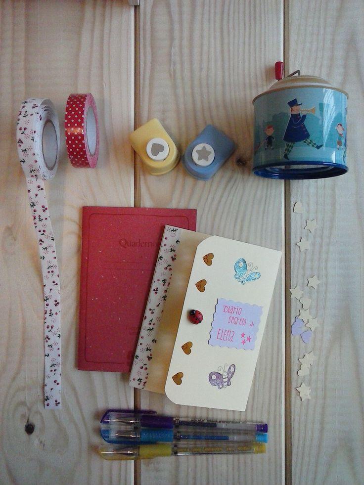 Diario segreto: laboratorio creativo per bambini