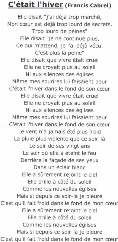25 best citations de chansons on pinterest citations for Francis cabrel quelqu un de l interieur