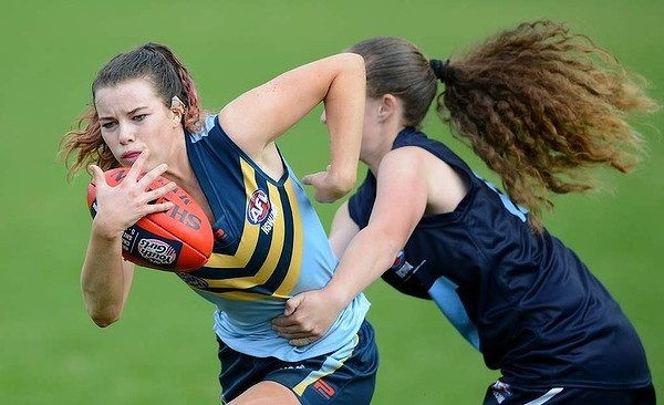 Victoria Metro Youth Girls team's efforts were captured by The Age's Pat Scala. #changethegame