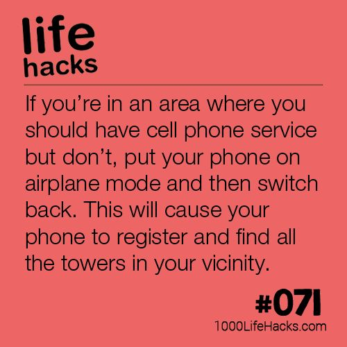 The post #071 – Getting Your Phone Service Back appeared first on 1000 Life Hacks.