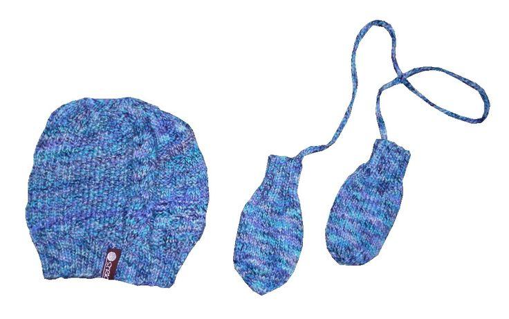 """Mütze und Handschuhe aus """"Merino Wool"""""""