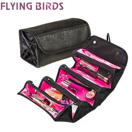 Купить товар Летящие птицы! многофункциональные женщины косметички макияж сумка косметическая чехол дорожные сумки дамы туалетные принадлежности Bolsas LM2170ay в категории Косметички на AliExpress. Материал: нейлон Дизайн: женщин косметические сумки,