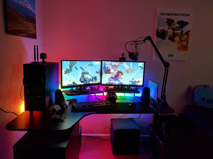 2252 best gaming setup pc images on pinterest gaming. Black Bedroom Furniture Sets. Home Design Ideas