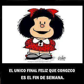 Fin de semana. Mafalda