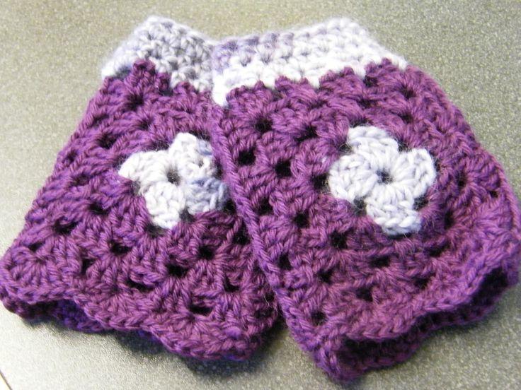 Ravelry: madforhooks' Pretty purple mittens