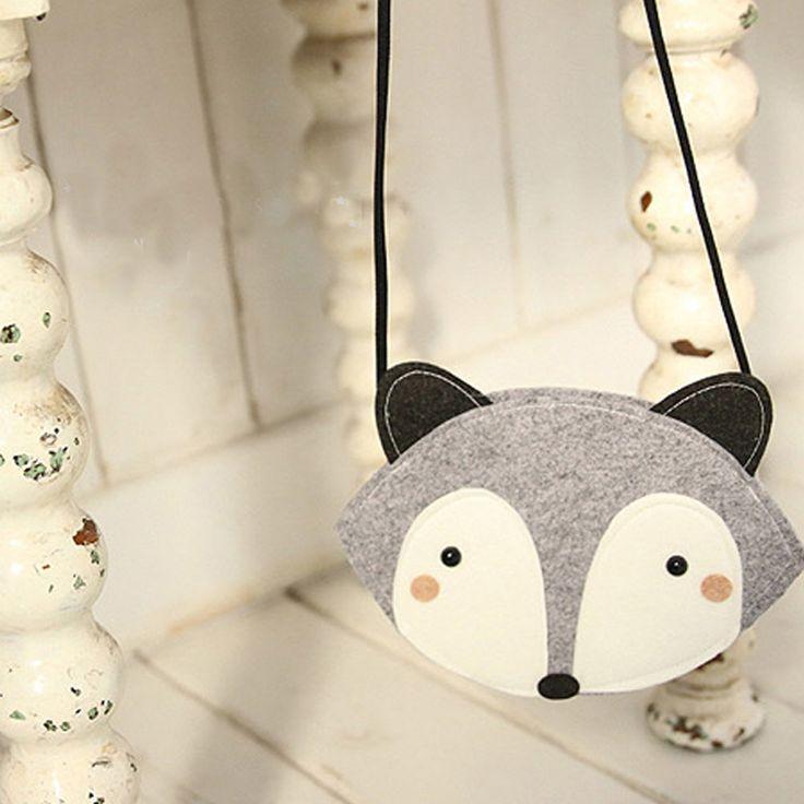 Lovely Baby Fox Модные Сумки Милый Мешок Хранения Сцепления Мешок Одноместный Сумки На Ремне Crossbody Сумки Для Детей Высокого Качества #shoes, #jewelry, #women, #men, #hats, #watches