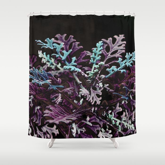 Buy Floral abstract (purple) Shower Curtain by maryberg. Worldwide shipping available at Society6.com. Just one of millions of high quality products available.