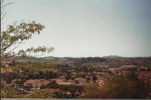 Shot over Tuscan, Certaldo in the south of Italy in Summer. 35mm with Minolta x 570