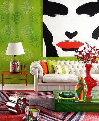 Bright green!: