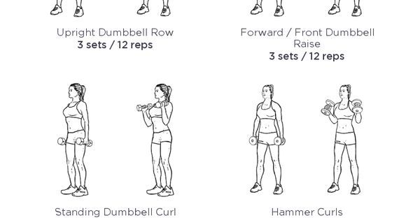 17 best ideas about upper body workout routine on